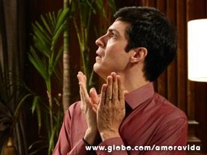 Félix apavorado (Foto: Amor à Vida/ TV Globo)
