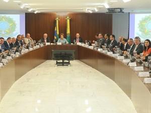 Lançamento do Plano Nacional de Enfrentamento à Microcefalia, em Brasília (DF) (Foto: Secom)