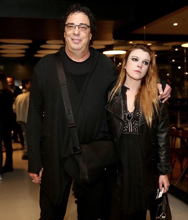 Casagrande com a namorada, Isabela Johansen (Foto: Brazil News/ Marcos Ferreira)