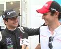 """Nelsinho brinca com Senna por ajuda na Fórmula E: """"Vou pagar a bebida"""""""