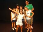Sucesso em 'Salve', atriz mirim Kiria Malheiros se matricula em aula de teatro