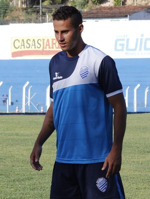 Afonso, atacante do CSA (Foto: Caio Lorena / GloboEsporte.com)