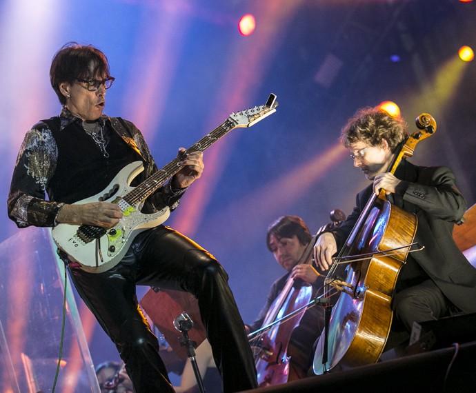 O guitarrista voltou ao Rock in Rio depois de 30 anos (Foto: Inácio Moares/Gshow)