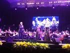 Tenor Plácido Domingo faz show em Fortaleza com repertório brasileiro