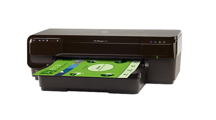 Impressora multifuncional Officejet 7710, da HP (Foto: Divulgação/HP) (Foto: Impressora multifuncional Officejet 7710, da HP (Foto: Divulgação/HP))