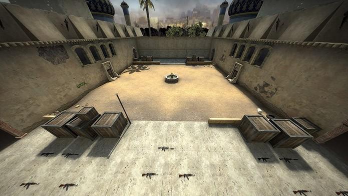 Mapa competitivo está em CS:GO (Foto: Divulgação/Steam)