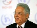 FHC: Rio+20 é positiva independentemente do documento final (Alexandre Durão/G1)