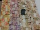 Policiais apreendem R$ 200 mil em dinheiro para pagamento de cigarros