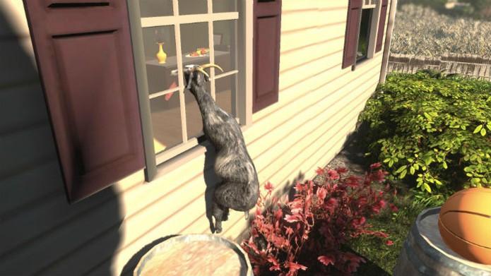 Em Goat Simulator, os bugs são propositais (Foto: Divulgação)