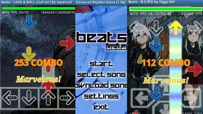 Beats: Versão mobile de jogo de dança se parece com Guitar Hero (Foto: Divulgação)