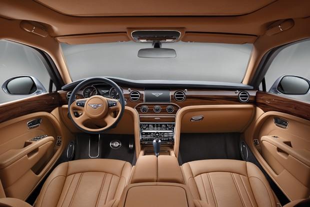 Bentley Mulsanne 2017 (Foto: Divulgação)