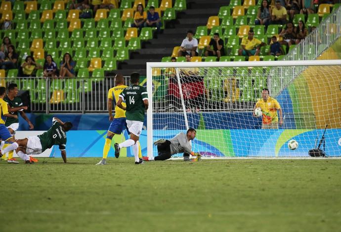 Brasil Ucrânia futebol de 7 Paralimpíada (Foto: Cezar Loureiro/MPIX/CPB)