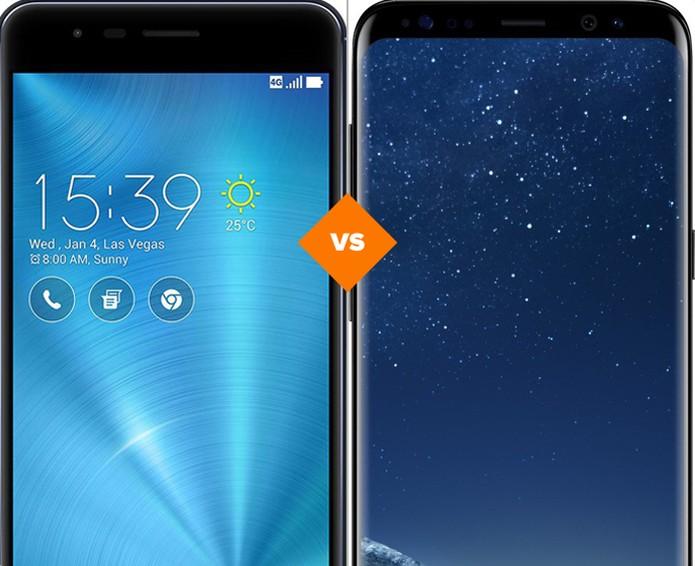 Galaxy S8 ou Zenfone 3 Zoom? Veja qual o melhor celular (Foto: Arte/TechTudo)