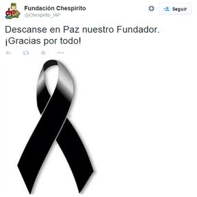 Fundação Chesperito faz homenagem a Roberto Bolaños (Foto: Reprodução/Reprodução)
