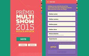 Baixe o aplicativo do Prêmio Multishow 2015