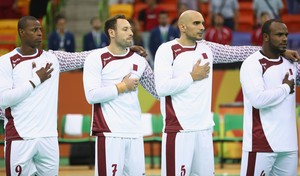 Croácia x Catar, handebol, Olimpíada, Rio 2016 (Foto: Getty Images)