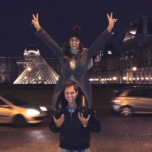 Giovanna Antonelli e o marido, Leonardo Nogueira,  (Foto: Reprodução/Instagram)