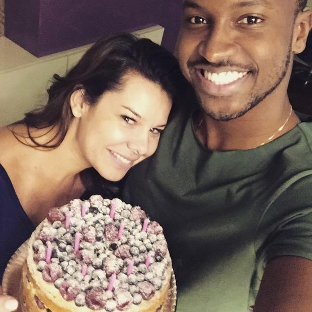 Fernanda Souza e Thiaguinho (Foto: Instagram/ Reprodução)