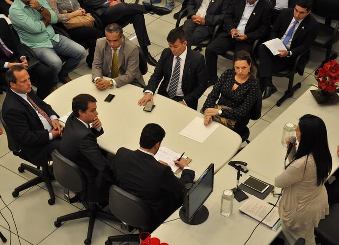 Audiência leilão do Brinco de Ouro (Foto: Divulgação Assessoria de Imprensa Tribunal Regional do Trabalho da 15ª Região)