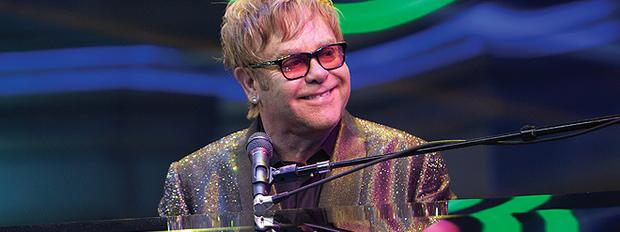 Elton John (Foto: Divulgao)