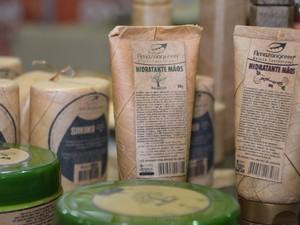 Cosméticos com produtos da Amazônia terão destaque na feira (Foto: Cláudia Regina Dantas/Divulgação)