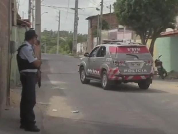 Segunda região de Fortaleza vai receber Unidade Integrada de Segurança (Foto: TV Verdes Mares/Reprodução)