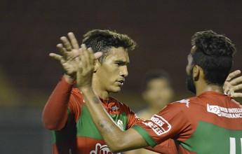 Atacante da Portuguesa revê gol 50 vezes para acreditar em noite de herói