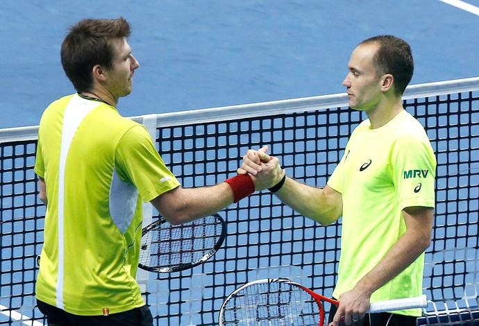 Bruno Soares e Peya duplas tênis ATP Finals (Foto: AP)