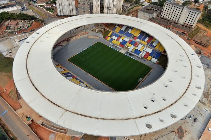 Estádio Estadual Kléber Andrade (Foto: Thiago Guimarães)
