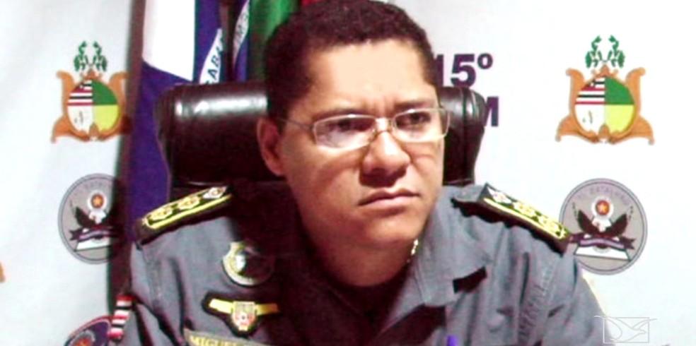 Tenente-coronel Miguel Neto matou mulher e se suicidou (Foto: Reprodução/TV Mirante)