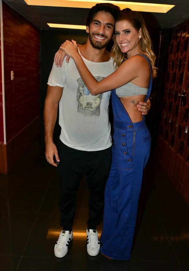 Hugo Moura e Deborah Secco (Foto: Webert Belicio / Ag News)