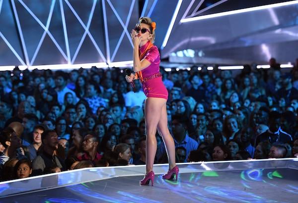 Miley Cyrus no VMA 2017 (Foto: Getty Images)