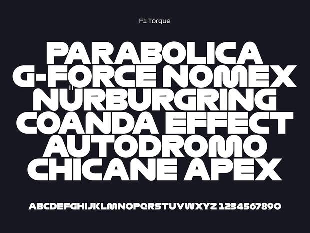 Tipologia F1 Torque (Foto: Divulgação/W+K)