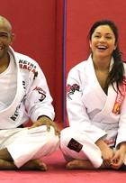 Maria Melillo mostra aula de jiu-jitsu: 'É bom para ocupar a cabeça'