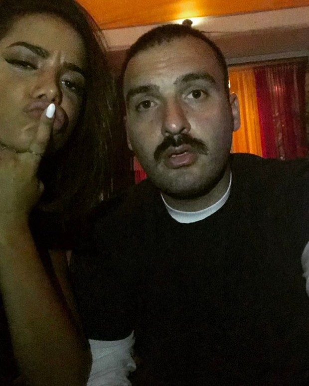 Anitta e John Shahidi (Foto: Reprodução / Instagram)