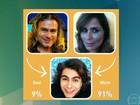 Incrível! Segundo aplicativo, Rafael Vitti é mais parecido com a mãe