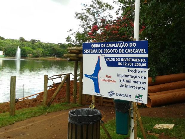 Trabalhos estão previstos parar recomeçar a partir de segunda-feira (14) (Foto: Sanepar/ Divulgação)