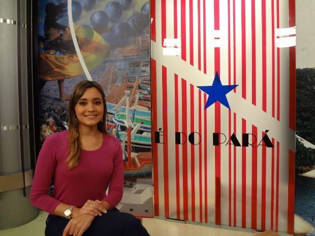 Amanda Pereira, apresentadora e editora do 'É do Pará' (Foto: Ingo Muller / G1 Pará)