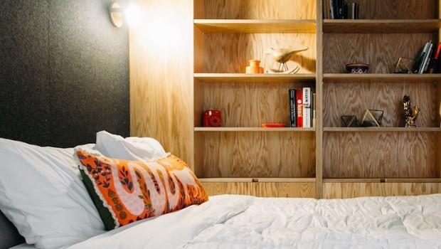 O quarto de um apartamento WeLive (Foto: Divulgação)