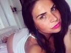 Solange Gomes lança desafio em foto: 'Ser sexy mesmo usando bege'