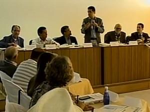 Conselho de meio ambiente se reuniu em Petrolina, PE (Foto: Reprodução / TV Grande Rio)