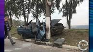 Acidente deixa cinco feridos em Jacareí