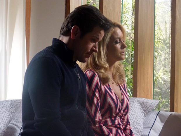 Jonas termina tudo com Pamela  (Foto: Geração Brasil / TV Globo)