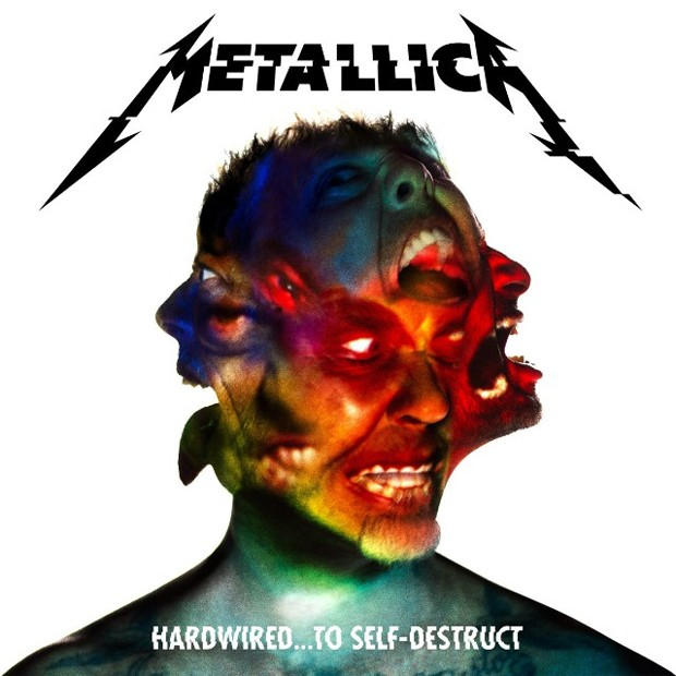 Capa do novo disco do Metallica, 'Hardwired... To self-destruct' (Foto: Divulgação)