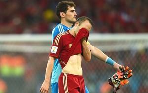 Iniesta derrota Espanha (Foto: Getty Images)