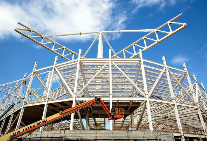 Estádio Olímpicio de Esportes Aquáticos Rio 2016 (Foto: André Motta/Ministério do Esporte)