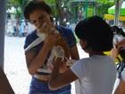Campanha vacina animais contra raiva no Cabula e na Boca do Rio