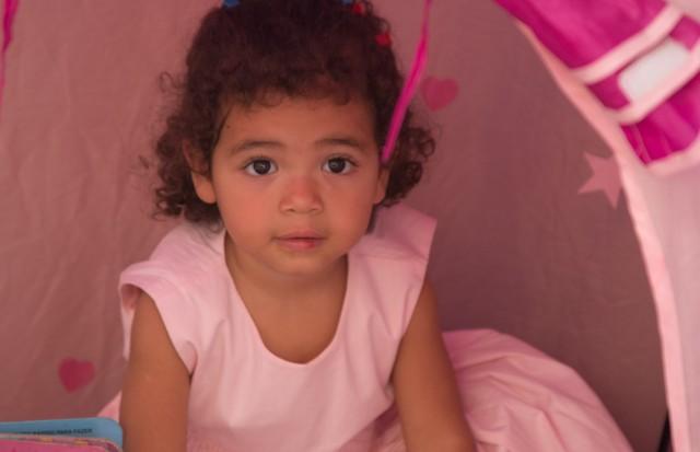 Thalita, filha adotiva de Ana Davini (Foto: divulgação)