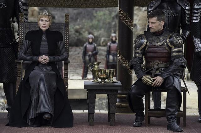 Lena Headey e Nikolaj Coster-Waldau em cena de 'Game of thrones' (Foto: Reprodução)