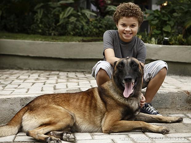 Zur e o ator Marlon Queiroz já viraram grandes amigos na vida real (Foto: Malhação / TV Globo)
